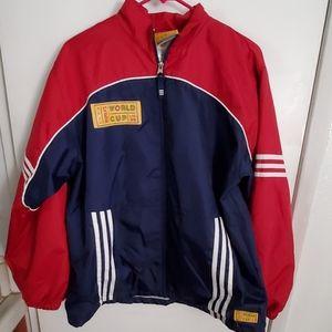 Adidas jacket women's world (CUP USA 99)